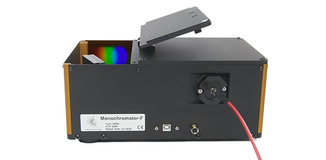 Monochromator-F für alle fasergekoppelten Lichtquellen