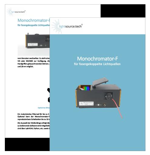 Datenblatt Monochromator-F